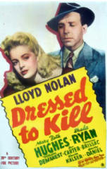 Dressed to Kill 1941 DVD - Lloyd Nolan / Mary Beth Hughes